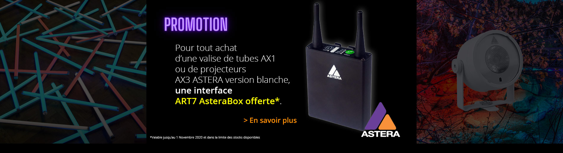 Promotion Astera ART7 offerte