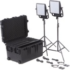 ASTRA3X-BIDUO-Kit de 2 Panneaux Led LITEPANELS Astra 3X Bi-Color Traveler Duo - 46°