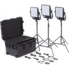 ASTRA3X-BITRIO-Kit de 3 Panneaux Led LITEPANELS Astra 3X Bi-Color Traveler Trio - 46°