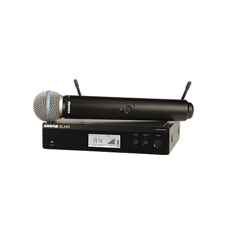 Système BETAW UHF rackable WA371 + BLX2/BETA58 + BLX4RE SHURE M17