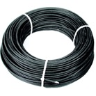 CABLE4N-50M-Câble acier gainé noir dit aviation Ø 4 mm - 50 m - Rupture 900 daN