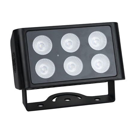 Projecteur Led 6 x 8W Blanc Chaud SHOWTEC Cameleon Flood 6 WW