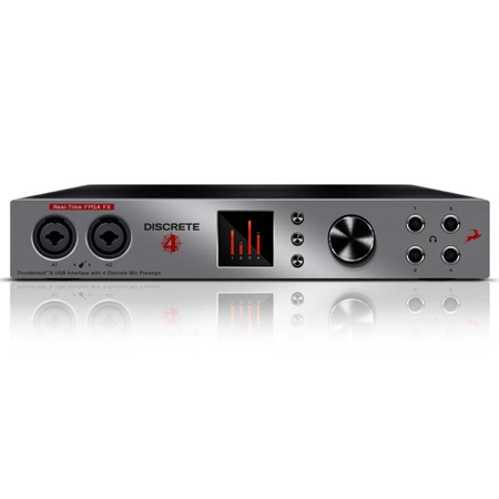 Interface USB Thunderbolt 14 in 20 out DISCRETE 4 premium FX ANTELOPE