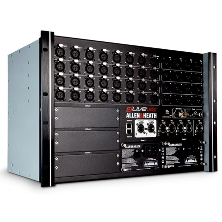 Rack 32 in 16 out pour console numérique DLIVE Allen & Heath