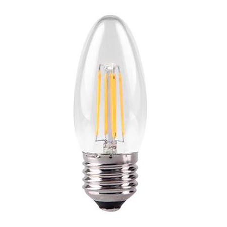 Flamme Filament LED 4W, claire, E27, 20000h, 2700K