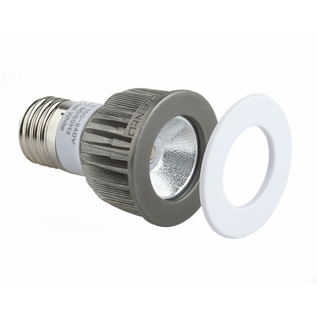 Lampe LED NED culot E27 1 LED CREE 3W 6000 K  55°