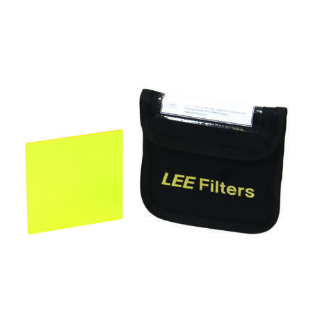 Filtre LEE FILTERS pour N&B ''No 8 Yellow'' - Dim. : 100x100mm