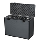 FLIGHT-2SHARK - Flight-case / valise pour 2 projecteurs SHOWTEC Shark Spot One