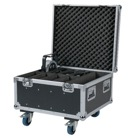 FLIGHT-8COMPACTPAR - Flight-case de transport pour 8 projecteurs SHOWTEC Compact Par 7