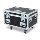 FLIGHT-8MINIPAR-Flight case CLF pour 8 TRICOLOR-MINIPAR ou QUADCOLOR-MINIPAR