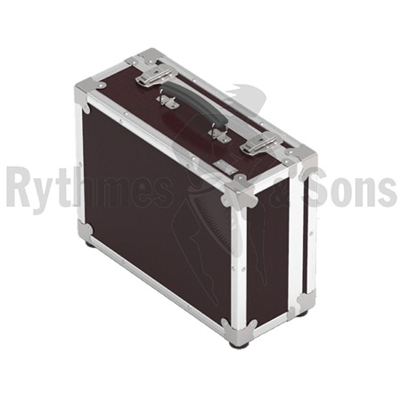 Flight-case de transport Rythmes et Sons pour mixeur Blackmagic Atem