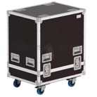 FLIGHT-KLA181-Flight-case Rythmes et Sons type cloche pour 1 Sub QSC KLA181