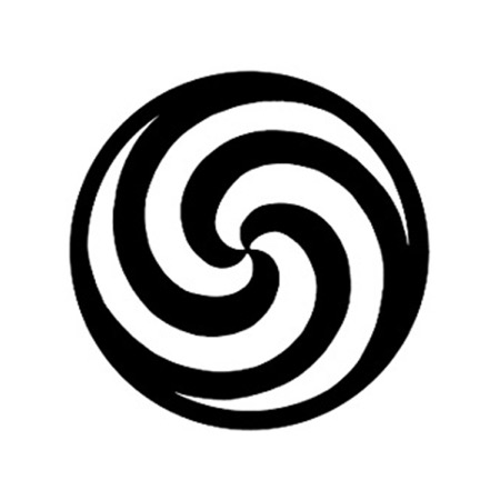 Gobo GAM 233 Spiral - Taille B (86 mm)