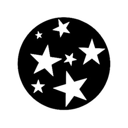 Gobo GAM 244 Super stars - Taille A (100 mm)