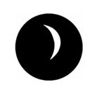 G250-B-Gobo GAM 250 Crescent moon - Taille B (86 mm)