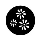 G258-A-Gobo GAM 258 Daisy pattern - Taille A (100 mm)