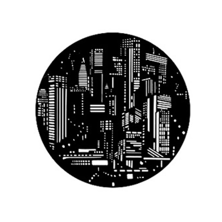 Gobo GAM 261 City lights - Taille A (100 mm)