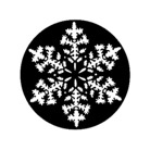 G269-D-Gobo GAM 269 Snowflake - Taille D (54 mm)
