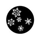 G310-CYB-Gobo GAM 310 Small snowflakes - Taille CYB (45 mm)