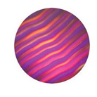 G33005-B-Gobo ROSCO Colorwave 33005 Waves Indigo - Taille B (86 mm)