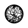 G517/CYB-Gobo GAM 517 Twisting branches - Taille CYB (45 mm)