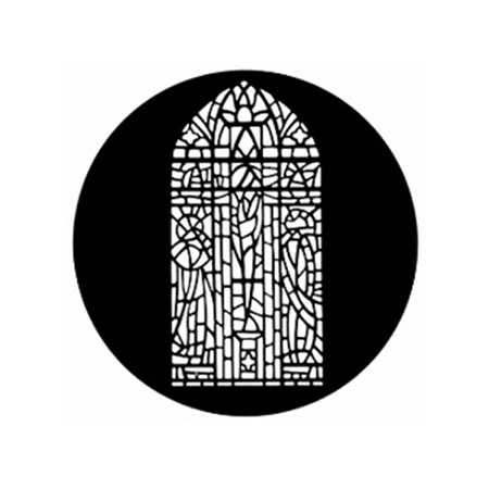 Gobo GAM 583 Stained glass window - Taille B (86 mm)