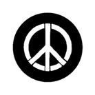 G588-B-Gobo GAM 588 Peace piece - Taille B (86 mm)