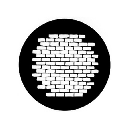 Gobo GAM 597 Bricks - Taille A (100 mm)