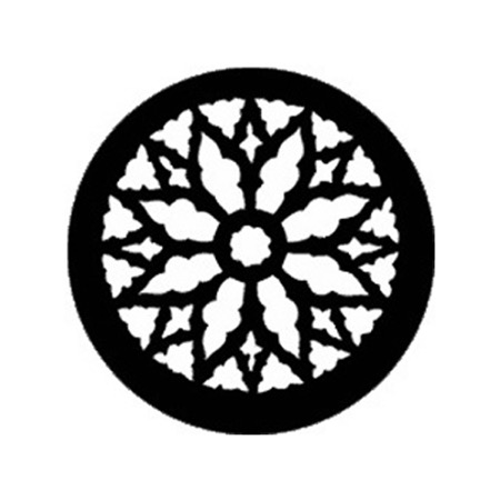 Gobo ROSCO DHA 77145 Rose window 2 - Taille B (86 mm)