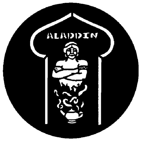 Gobo ROSCO DHA 77585 Aladdin - Taille M (65.5 mm)