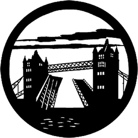 Gobo ROSCO DHA 77815 Tower bridge - Taille M (65.5 mm)