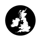 G77875-A-Gobo ROSCO DHA 77875 British isles - Taille A (100 mm)