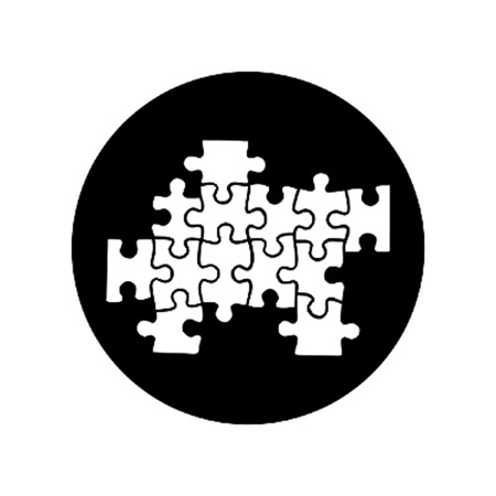 Gobo ROSCO DHA 77935 Jigsaw - Taille M (65.5 mm)