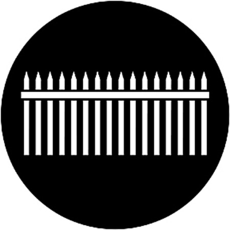 Gobo ROSCO DHA 78033 Picket fence - Taille B (86 mm)