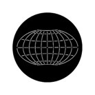G78087-B-Gobo ROSCO DHA 78087 Map grid - Taille B (86 mm)