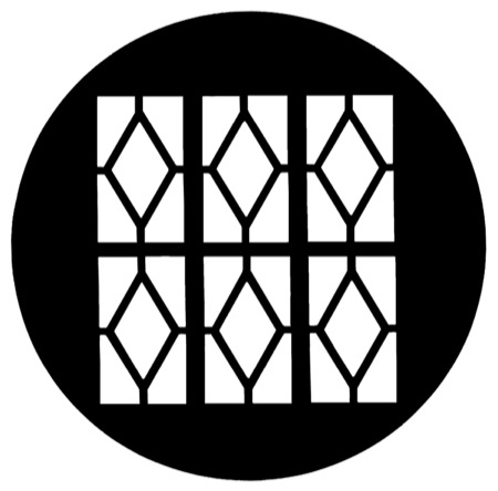 Gobo GAM 799 Tudor window 2 - Taille M (66 mm)