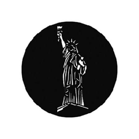 Gobo GAM n° 817 Statue of Liberty - Taille M (66 mm)