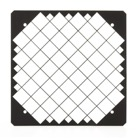 GR180 - Grille de protection 180 x 180 mm