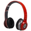 HP-1647-Casque Bluetooth pliable rouge AudioSonic HP-1647