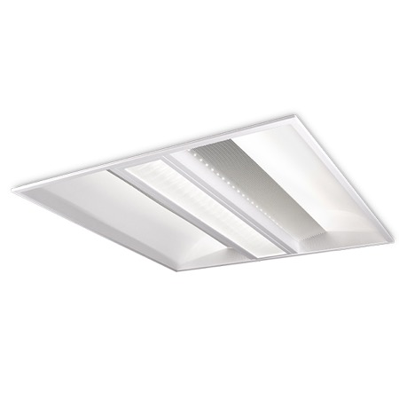 Dalle LED KURVE 600 x 600 mm - 4000K - 3600lm - 40 W - Kosnic