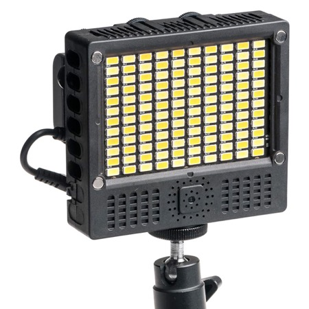 Torche/Minette CINEROID Tungstène/Daylight 2700/6500 K - 120 Led
