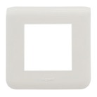 LEG-78802L - Plaque/enjoliveur MOSAIC - 2 modules - BLANCHE