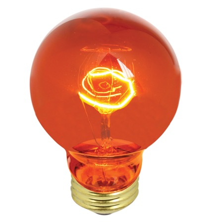Lampe décorative type GLS E27, Fire amber 60W 1000h
