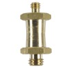 "MA037-CAMERA STUD - Spigot hexagonal 16mm avec filetage 3/8"" et 1/4"""