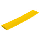 MANCHON-12J-Manchon thermorétractable jaune 12/4 mm - Longueur 10 cm