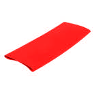 MANCHON-24R-Manchon thermorétractable rouge 24/8 mm - Longueur 10 cm
