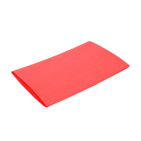 Manchon thermorétractable rouge 38/12 mm - Longueur 10 cm