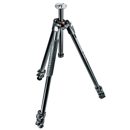 Trépied photo 3 sections 290 Xtra aluminium MANFROTTO seul