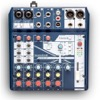 NOTEPAD-8FX-Console analogique 6 in 2 out, USB, FX, NOTEPAD-8X Soundcraft