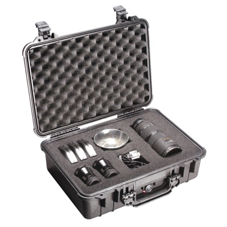 Valise PELI MEDIUM CASE - Dim Int : 42,8 x 28,6 x 15,5 cm